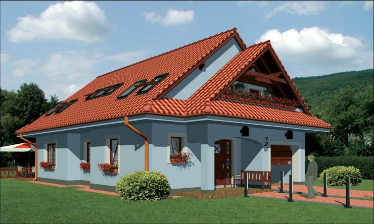 Montažne kuće KućaMont Beograd Srbija - Montazna kuca elegant 120 - izgled, o...