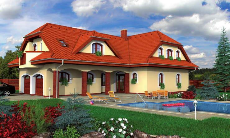 Montažne kuće KućaMont Beograd Srbija - Montazna kuca elegant 160 - izgled, o...
